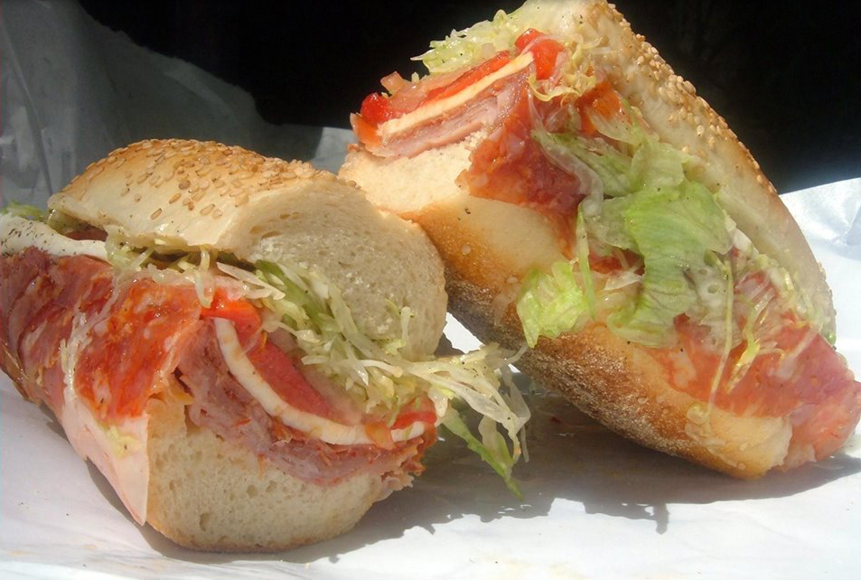 cold-sandwiches at Angelottis Pizza nj